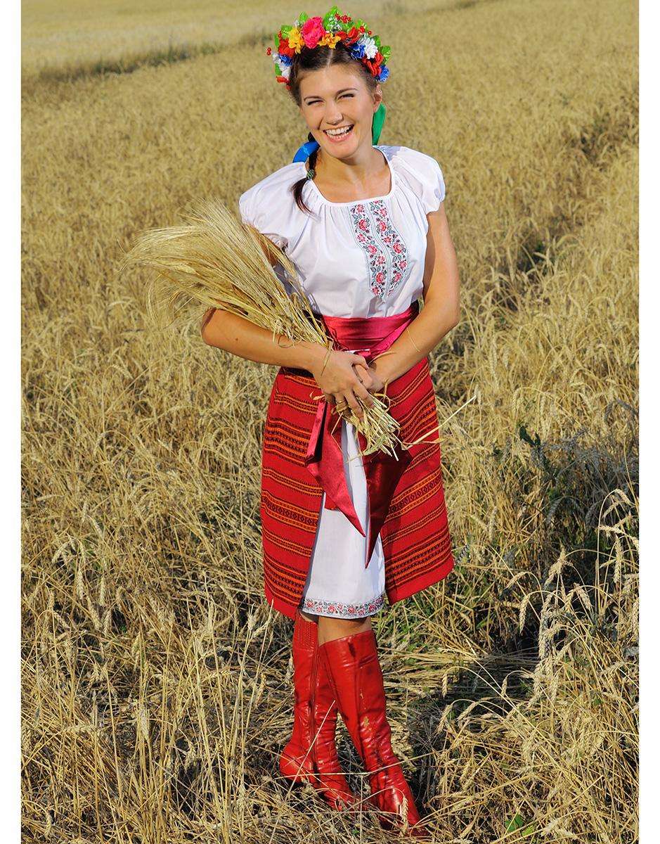 Украинский костюм для женщины своими руками