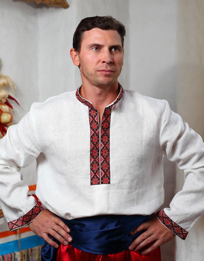Linen Ukrainian shirt