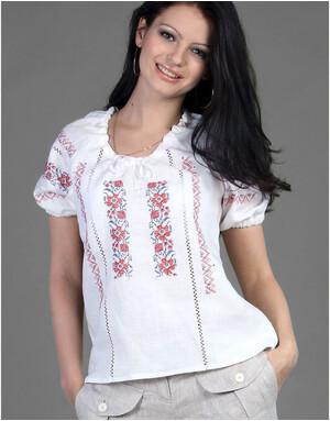Linen blouse ''Ukrainian''