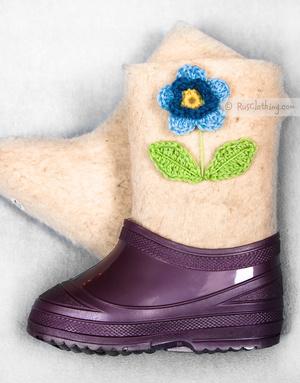 Valenki boots for kids