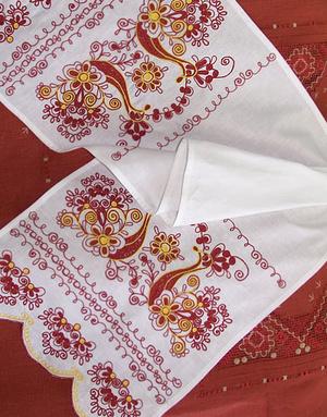 rushnik wedding towel