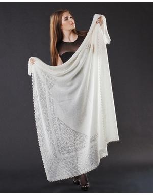 Orenburg shawl ''Metelitsa''