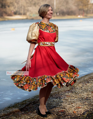russian dance costume