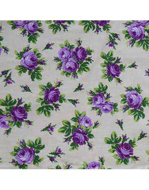 Russian textile ''Roses''