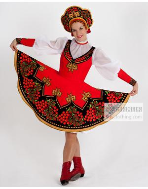 National dress Russia
