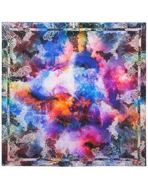Silk shawl ''Sunset''