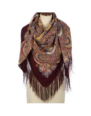 Wool shawl ''Russian Expanse''