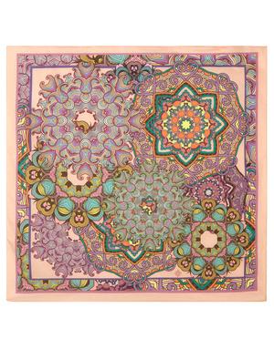 Cotton head scarf ''Mandala patterns''