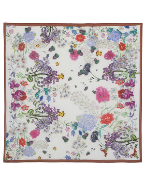 Silk shawl ''Field flowers''