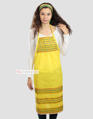 Ethnic apron