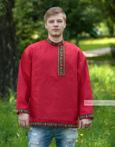 red kosovorotka
