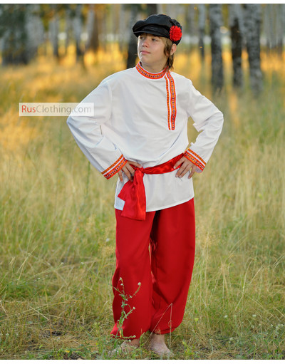 Russian traditional costume for men