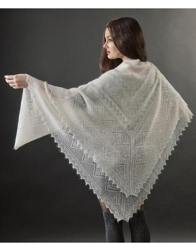 Knitting Shawl Russian : Down pashmina wrap  warmness rusclothing