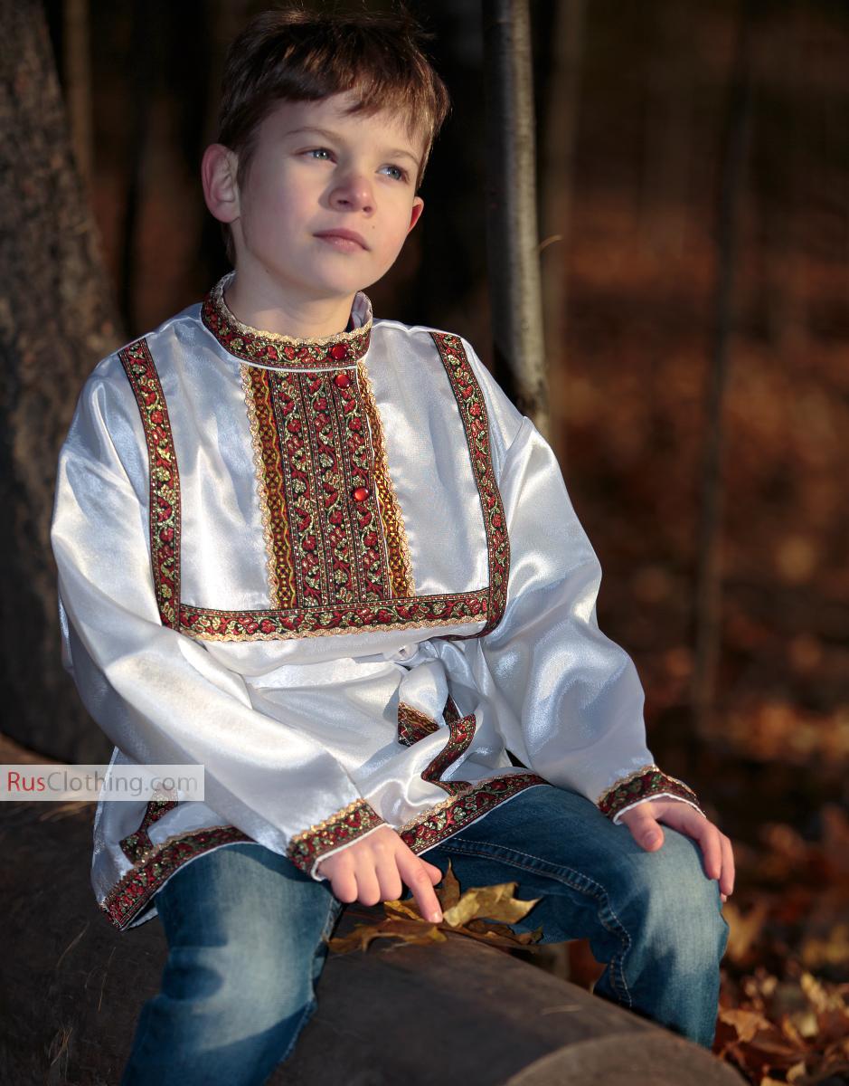 Russian shirt for boy | RusClothing.com