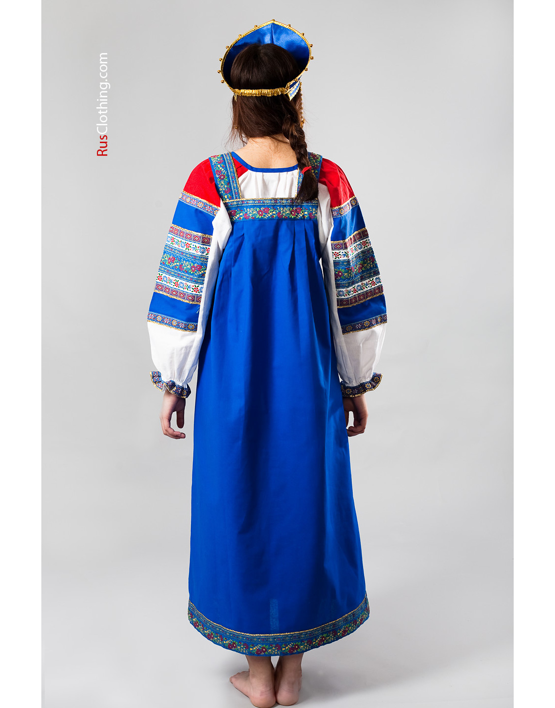 Sarafan Russian Dress National Costume Russia