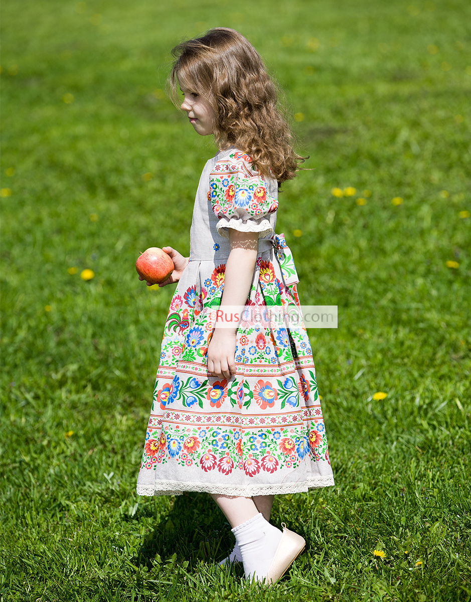 Flower Girl Dresses For Summer Rusclothing