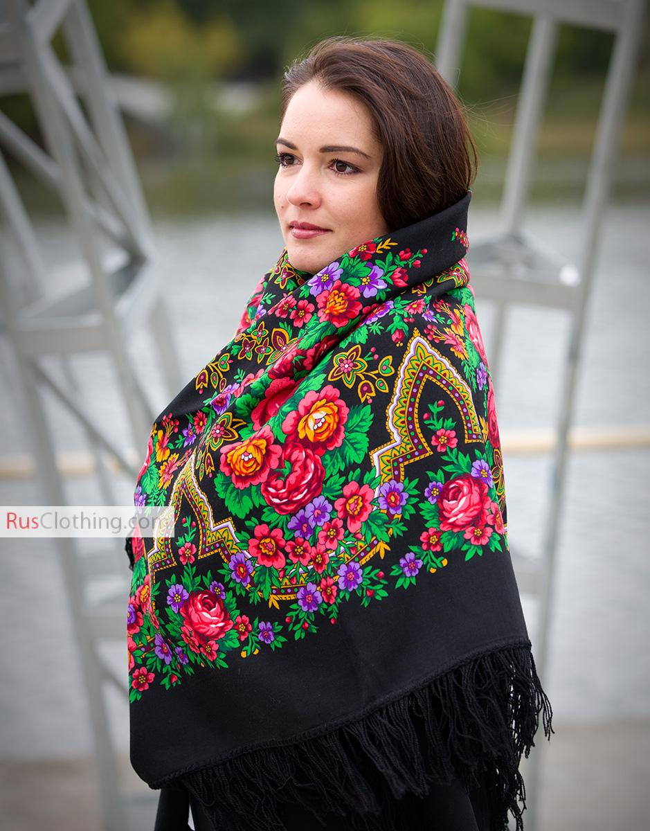Wool Shawl Russian Beauty Rusclothing Com