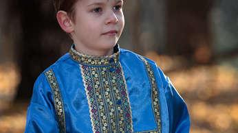 silk kosovorotka shirt