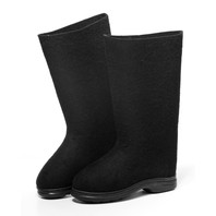Russian Felt Boots Valenki Black (Men size)