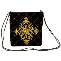 Gold Clutch Evening Bag ''Countess''}