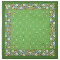 Cotton head scarf  ''Chamomiles''