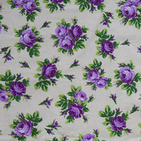 Textile russe '' Roses ''