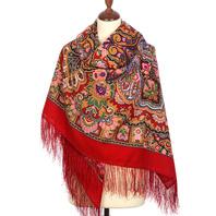 Wool shawl ''Beauty Queen''