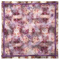 Cotton head scarf ''Purple fantasy''