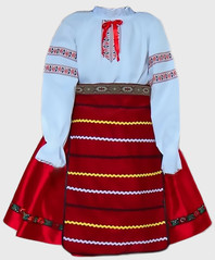 Bulgaria costume girls