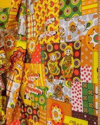 Textile de lin russe '' Folk Toys ''