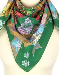 Cotton head scarf ''Merry Christmas''