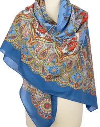 Cotton shawl ''Gentle Cloud''