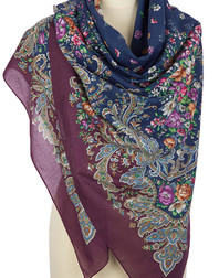Cotton shawl ''Crimean Spring''