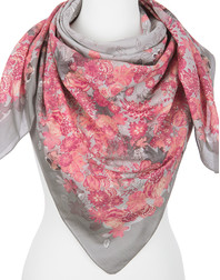 Cotton shawl ''Roseate''