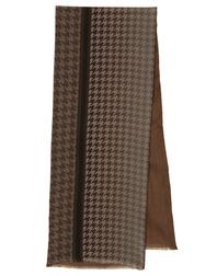 Foulard en soie pour l'homme avec laine ''Plaid''