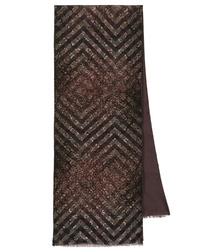 Foulard en soie pour l'homme avec laine ''Diamonds''