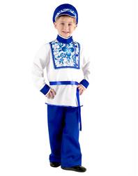 Russian Boy Gzhel Costume