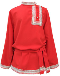 Traditional cotton Russian shirt ''Ruslan''