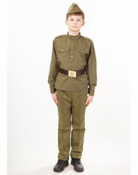 Red Army Uniform stage costume for boys ''Soldier''