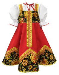 Russian dance costume ''Olenka''