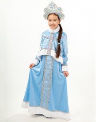 Russian Snow Maiden Costume ''Icicle''