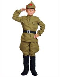 Costume de scène Uniforme de l'armée rouge pour les garçons ''Red army man''