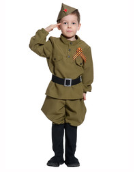 Red Army Uniform stage costume for boys ''Modern''