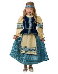 Folk Art Costume for girls ''Slavic''
