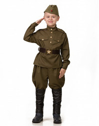 Red Army Uniform stage costume for boys ''Military''