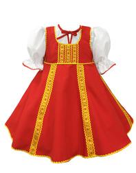Russian dance costume ''Polinka''