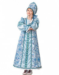 Russian Halloween Costume ''Vasilisa''