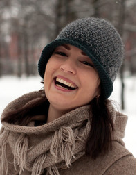 Style hand knit hat