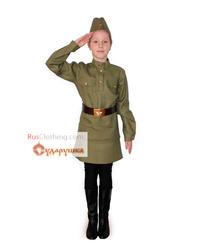 Soviet uniform stage costume