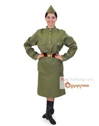Red Army uniform WWII